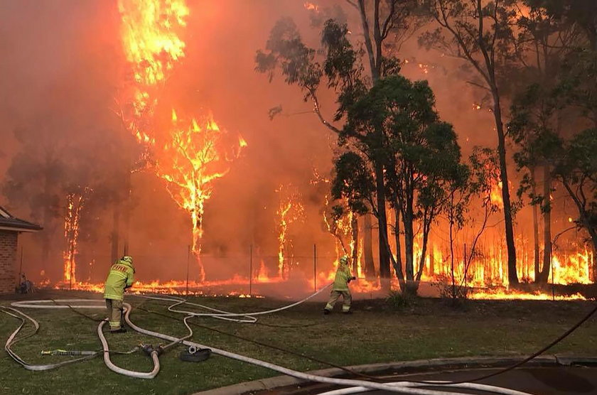 Ogień zbliża siędo Sydney