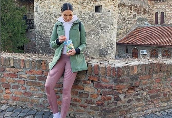 Prelepa holivudska glumica Džesika Grin ovih dana boravi u Beogradu