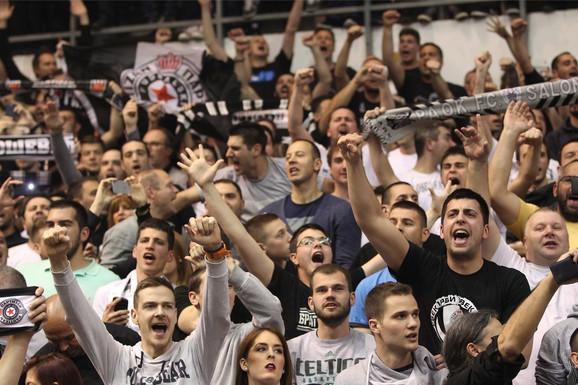 Partizan bi trebalo da ima apsolutnu podršku navijača, jer neće biti karata u prodaji niti razmene ulaznica