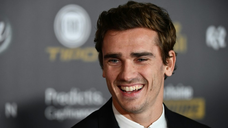 Antoine Griezmann leaving Atletico