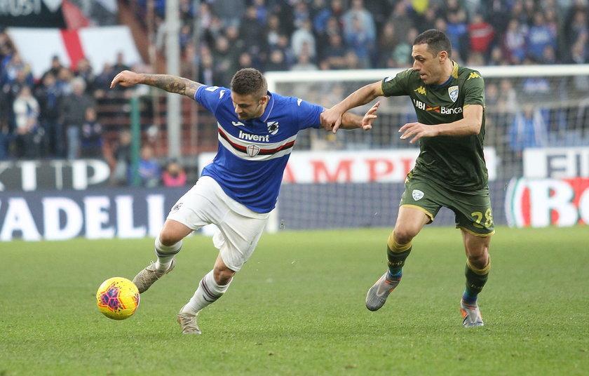 Gol i asysta Karola Linettego w meczu z Brescia