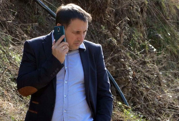 Predsednik opštine Bajina Bašta Radomir Filipović