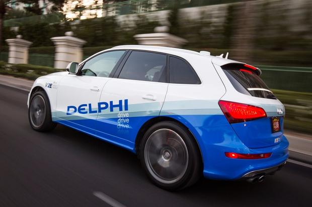 Autonomiczny samochód Delphi