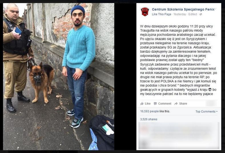 Po nagłośnieniu incydentu wpis został usunięty z profilu firmy na Facebooku