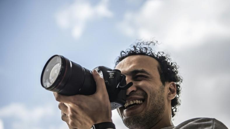 Egyptian photojournalist Mahmoud Abu Zeid vowed to resume his journalism career following his release from prison