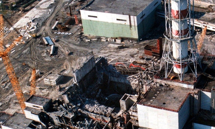 czarnobyl elektrownia atomowa katastrofa