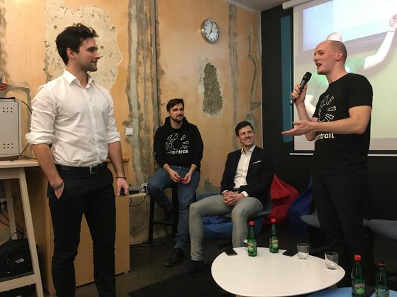 Branimir Rakić na jednom od predavanja u ICT hubu