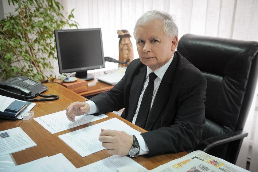 Pieniądze Kaczyńskiego.
