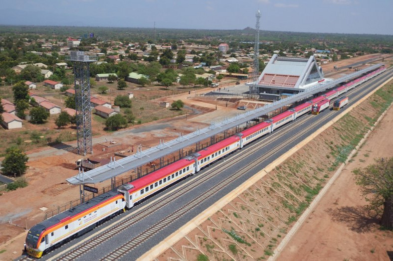 Kenya's $3.2 bn Chinese built Standard-Gauge Railway (SGR) ranked as the only remarkable railway line in Africa and seventh globally