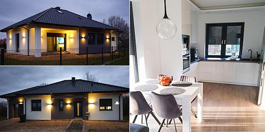 Mały dom parterowy zamiast mieszkania – dwie wersje do wyboru