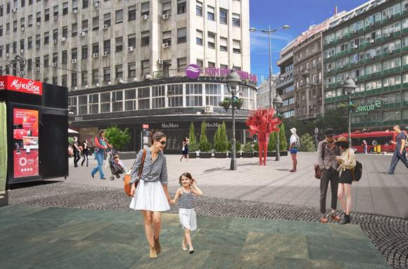 Budući izgled Sremske ulice