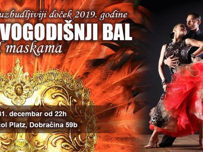 Ples, maske i šampanjac u Dorćol Platzu: Spremite se za Novogodišnji bal pod maskama
