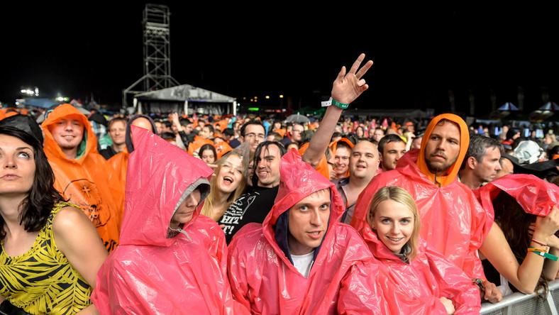 Orange Warsaw Festival 2015 w deszczu