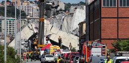 Katastrofa w Genui. Na jaw wyszły nowe, szokujące fakty! Tragedii można było uniknąć