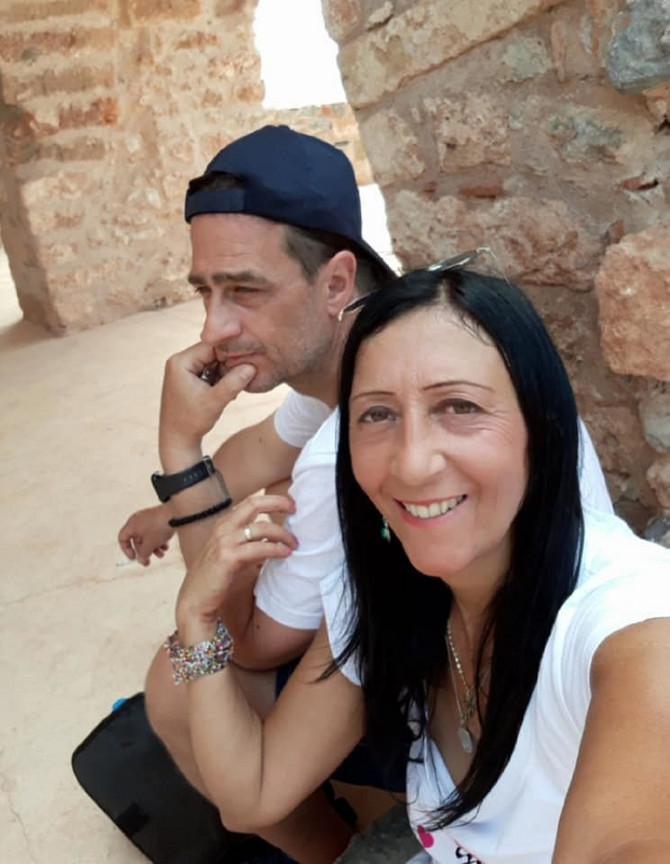 Vanja Terzić sa suprugom
