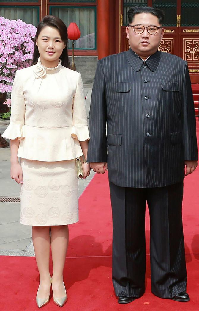 Kimova supruga na jednom od zvaničnih događaja