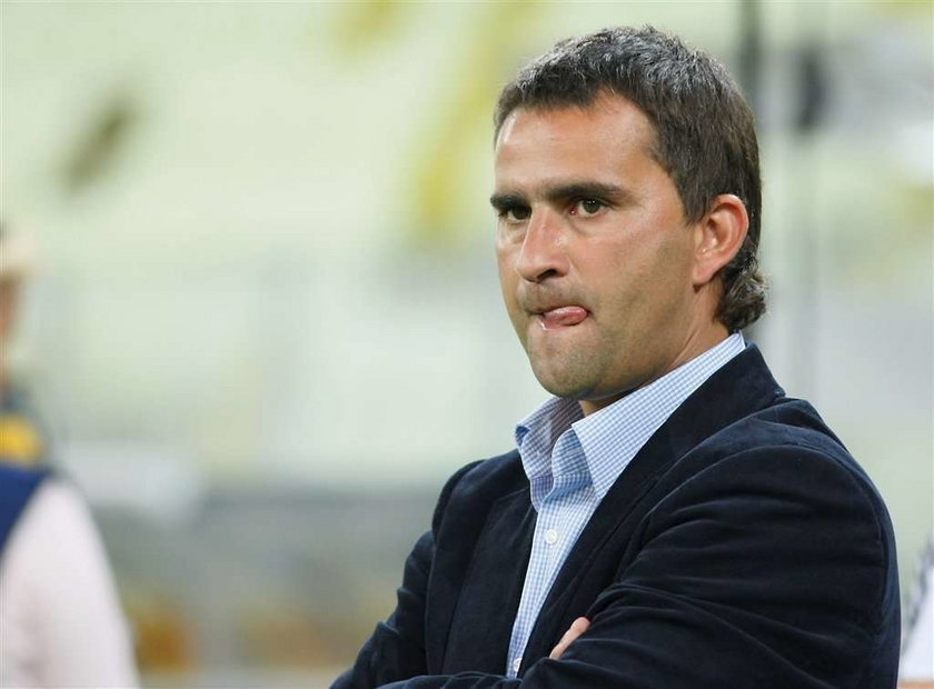 Cracovia ma nowego trenera, czyli zamienił stryjek siekierkę na kijek