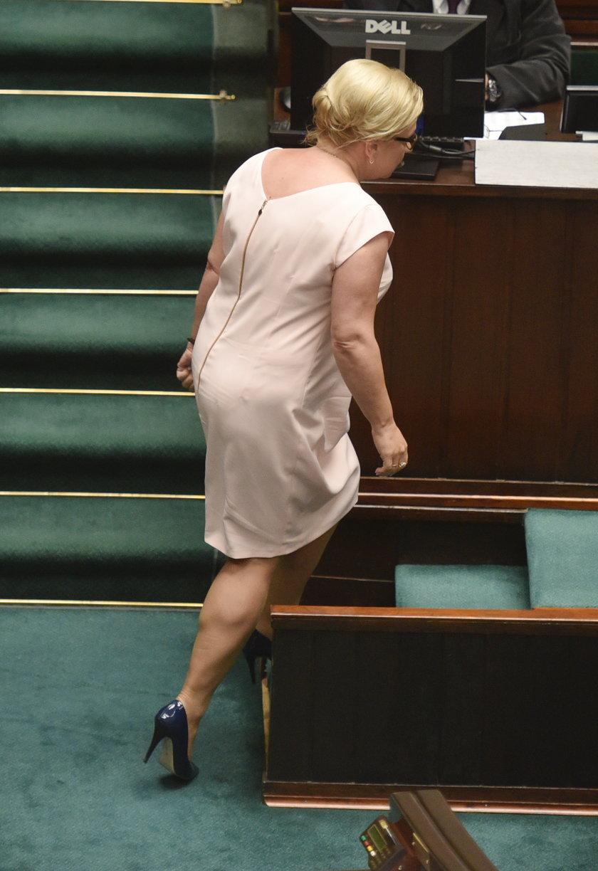 Beata Kempa w sejmie nosiła się po gwiazdorsku