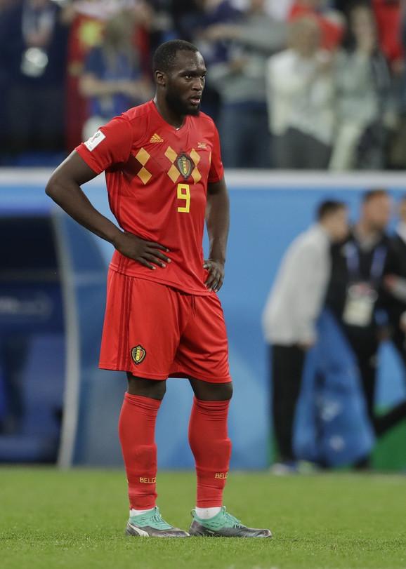 Romalu Lukaku je bio razočaran posle poraza u polufinalu Mundijala