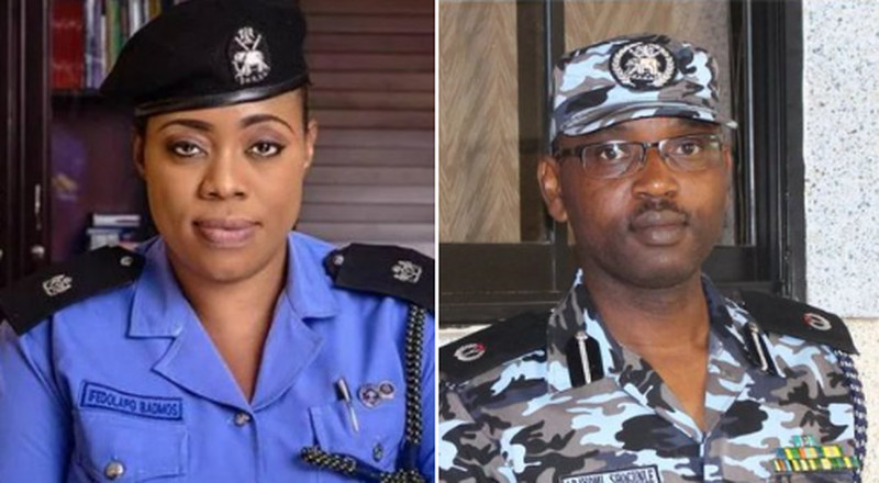 Abayomi Shogunle, Dolapo Badmus demoted as police release names of dismissed officers