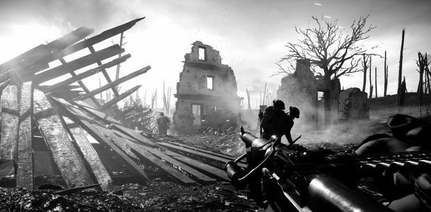 Battlefield 1 - tak wygląda  screen z rozgrywki