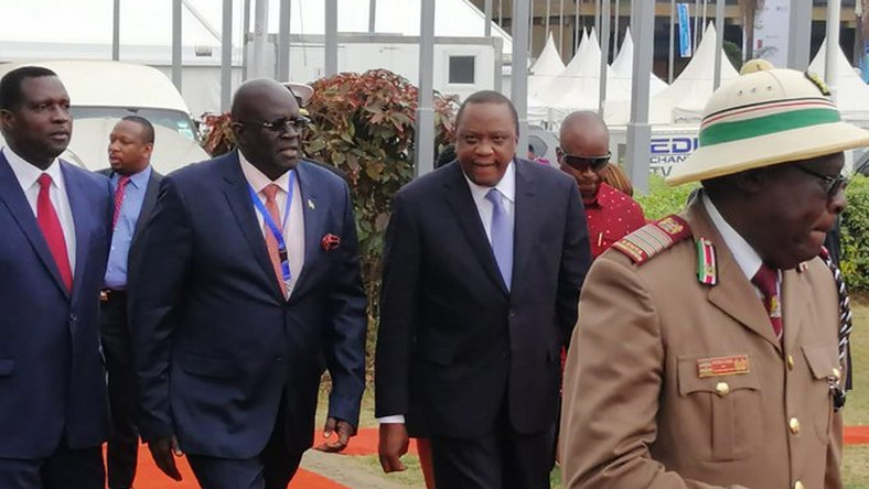 Image result for UHURU SRAPS OFF KCPE AND CBC LAUNCHING