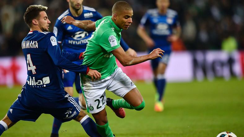 Francja: AS Saint-Etienne pewnie pokonało Olympique Lyon - Piłka nożna