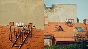 Romantyczna i niebezpieczna kolacja na dachu