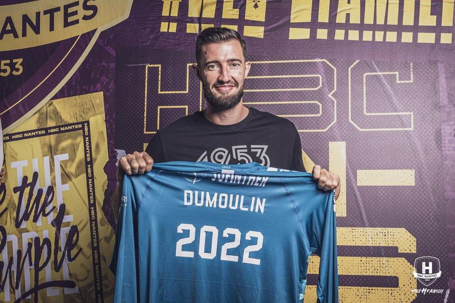 Cyril Dumoulin zostaje w HBC Nantes! Nowa umowa podpisana