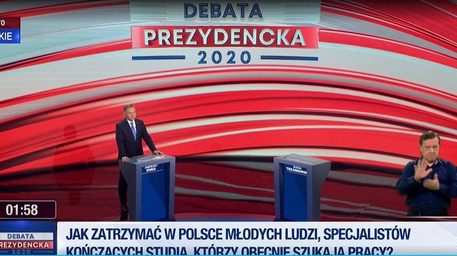 """""""Debata"""" TVP w Końskich"""