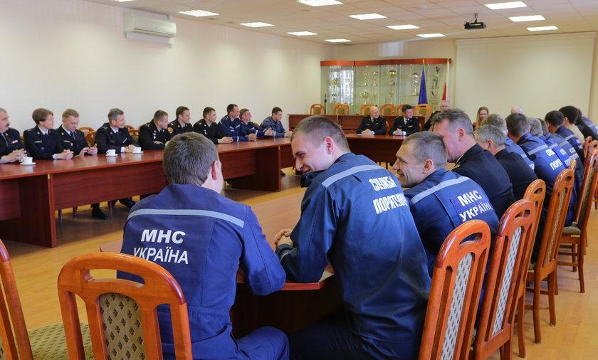 Ukraińscy strażacy