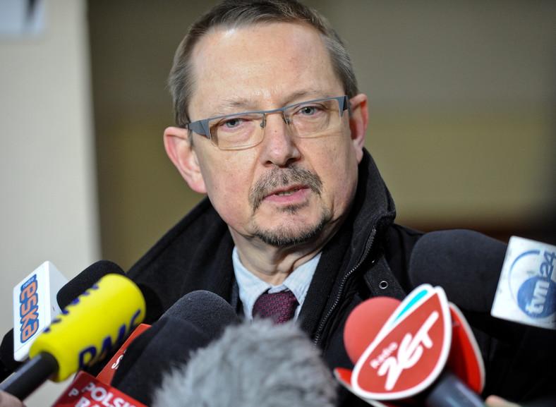 Prezes Federacji Związków Pracodawców Ochrony Zdrowia Porozumienie Zielonogórskie Jacek Krajewski