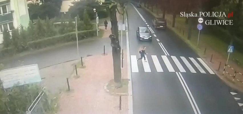 Młoda kobieta potrącona na przejściu dla pieszych. Kierująca była bardziej przejęta niż ofiara. To wideo to przestroga dla kierowców
