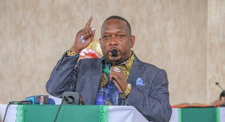 Former Nairobi Governor Mike Mbuvi Sonko