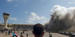 Eksplozja na lotnisku w Adenie. Nie żyje blisko 30 osób, ponad 50 rannych