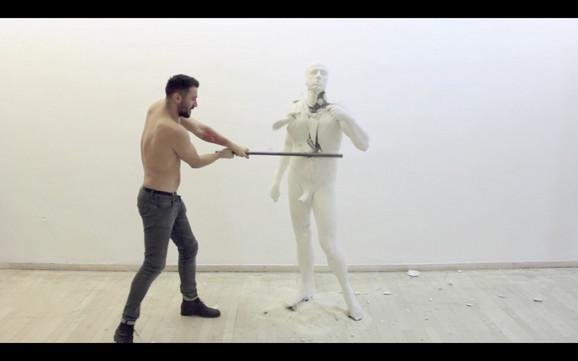 Boris Šribar, Razbijanje (Deo izložbe