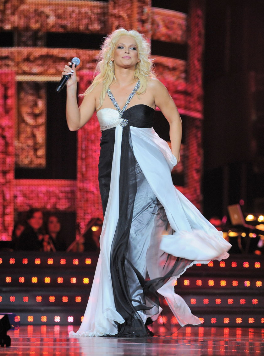 Joanna Liszowska na scenie