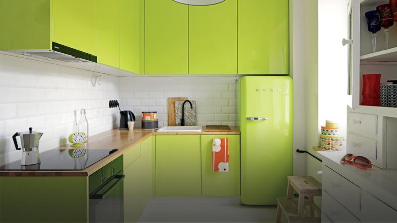 Kuchnia W Kolorze Limonki Dom