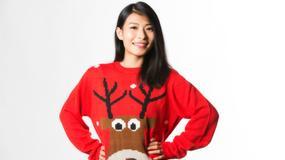 Pasażerowie ubrani w świąteczny sweter mają pierwszeństwo wejścia na pokład