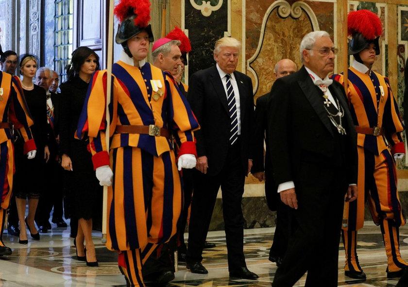 Spotkanie Trupa z papieżem Franciszkiem