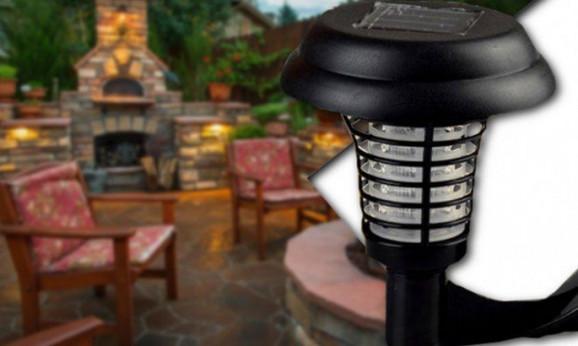 Solarna zidna lampa