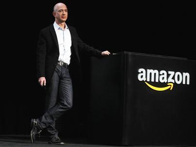 Jeff Bezos, prezes Amazona, został niedawno trzecim najbogatszym człowiekiem na świecie