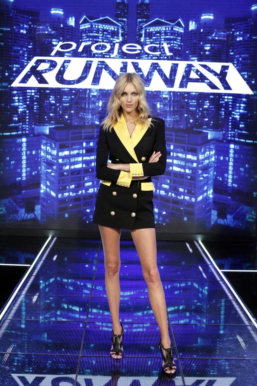 """Anja Rubik w finale """"Project Runway"""""""