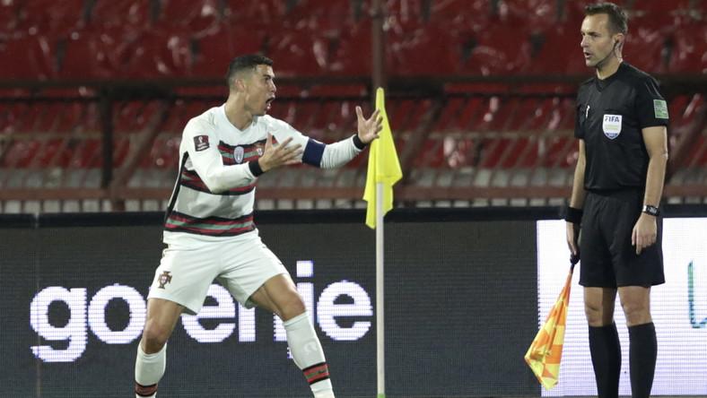 Cristiano Ronaldo nie mógł uwierzyć, że bramka nie została uznana
