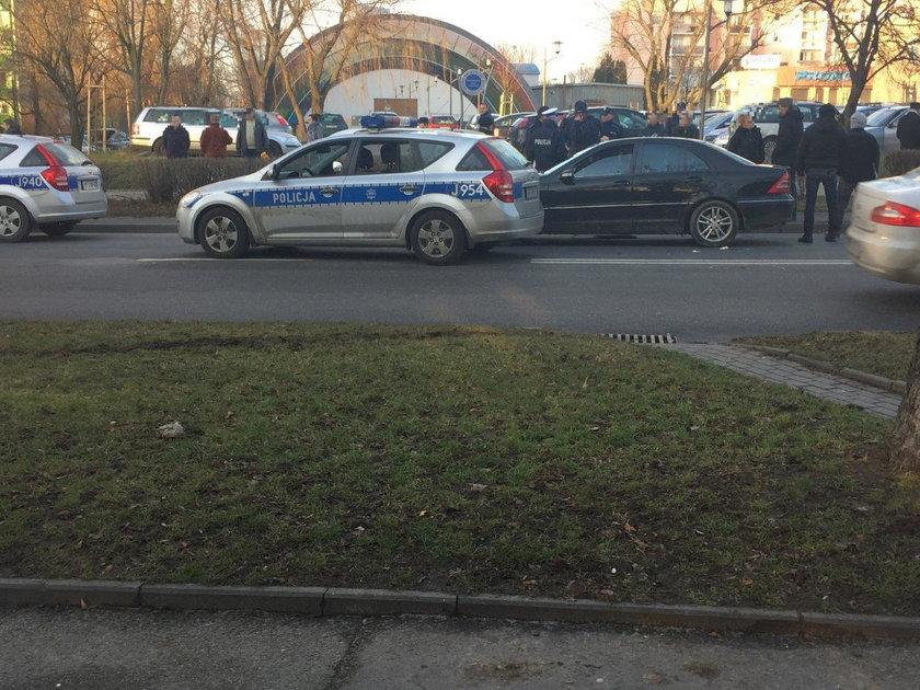 Pościg w centrum Opola