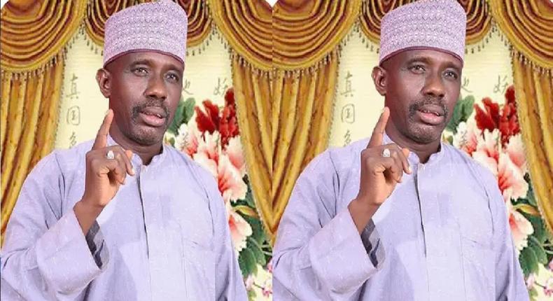 Kano-based praise singer, Bashir Dandago. [Daily Trust]