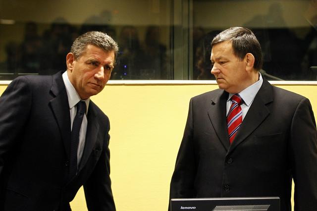 Gotovina i Markač u sudnici Haškog tribunala