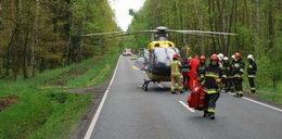 Brawurowe lądowanie ratownika. Internauci zszokowani