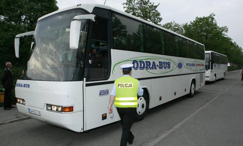 autokar kontrola policja