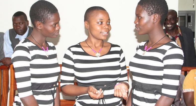 Kakamega twins' mother speaks on hard life after separation with daughter